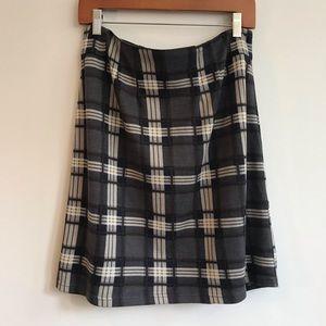 41 Hawthorn Jordanne A Line Plaid Skirt